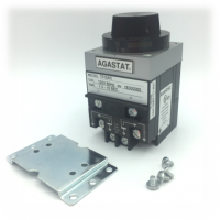 Agastat 7012YCX Timing Relay, On-Delay, DPDT, 6 VDC, 1.5 - 15 Sec., Panelmount includes hardware and adjustment for horizontal operation