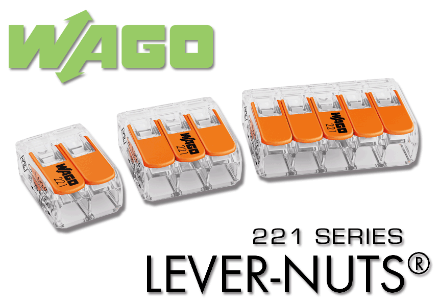 221 SERIES LEVER-NUTS®